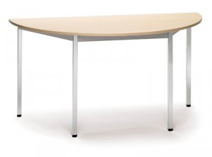 Table demi-rond