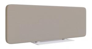 Écrans de séparation : Trois dimensions, équipés d'un socle en acier peint époxy, épaisseur 4 mm. Excellente stabilité.