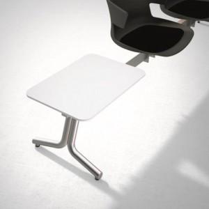 part tavolino bianco