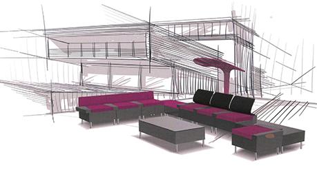 accueillir aux docks du bureau buro espace. Black Bedroom Furniture Sets. Home Design Ideas