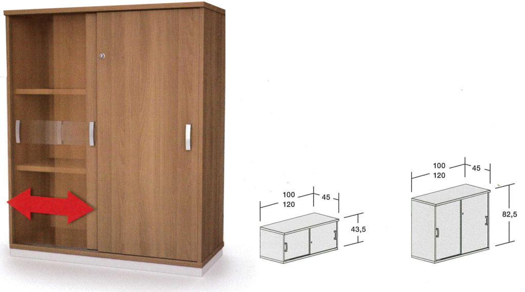 armoire à portes coulissantes