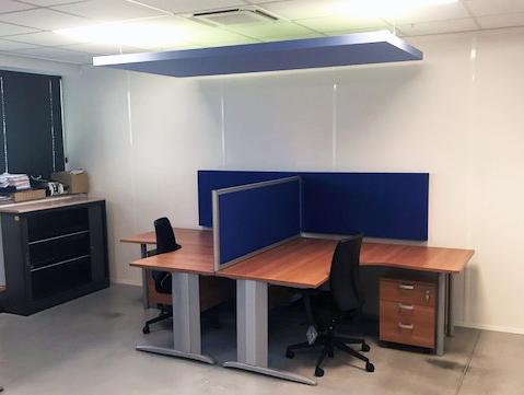 am nagement acoustique d 39 un poste de travail aux docks du bureau buro espace. Black Bedroom Furniture Sets. Home Design Ideas