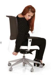 Réglage hauteur du siège