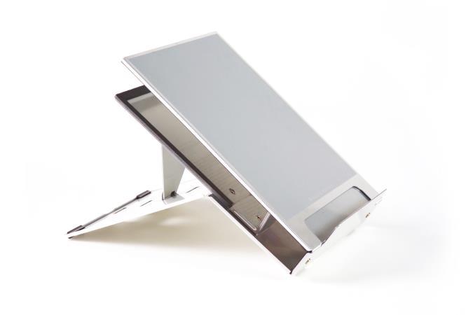 support ordinateur portable aux docks du bureau buro espace. Black Bedroom Furniture Sets. Home Design Ideas